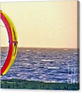 Kite Boarder 2 Canvas Print