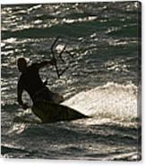 Kite Surfer 03 Canvas Print