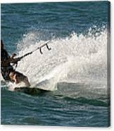 Kite Surfer 04 Canvas Print