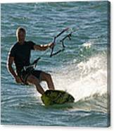 Kite Surfer 05 Canvas Print