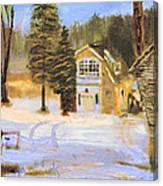 Kittattiny Park Ranger Residence Canvas Print