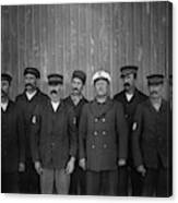 Kitty Hawk Crew, 1900 Canvas Print
