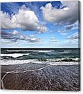 Kitty Hawk Surf Canvas Print