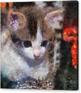 Kitty Photo Art 02 Canvas Print