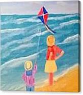 Kity Fly Canvas Print