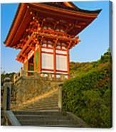 Kiyomizudera Temple Canvas Print