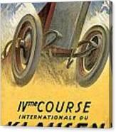 Klausen Automobile Canvas Print