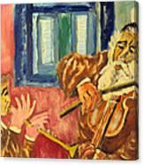 Klezmer Canvas Print