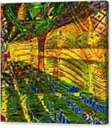 Klimt Covetous Canvas Print