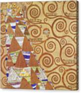 Klimt Expectation Canvas Print