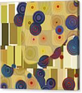 Klimtolli - 22 Canvas Print