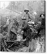 Klondike Gold Rush Miners  1897 Canvas Print