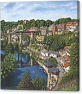 Knaresborough Yorkshire Canvas Print