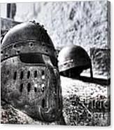 Knight Helmet Canvas Print