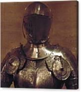 Knight In Shining Armor Canvas Print