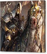 Knight Of Obligation Canvas Print