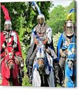 Knights In Shining Armor Canvas Print