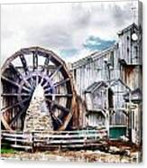 Knitsley Mill 1 Canvas Print