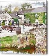 Knitsley Mill 5 Canvas Print