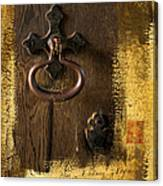 Knock At The Door Canvas Print
