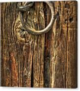 Knock On Wood Canvas Print