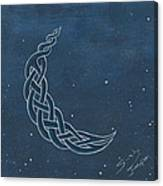 The Knotty Moon Canvas Print