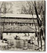 Knox Valley Forge Covered Bridge Canvas Print