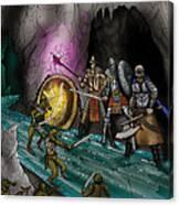 Kobold Entry Cavern Canvas Print
