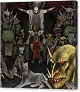 Kobold Throne Room Canvas Print