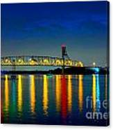 Kodachrome Bridge Canvas Print