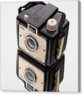 Kodak Brownie Bullet Camera Mirror Image Canvas Print
