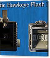 Kodak Brownie Hawkeye Camera Canvas Print