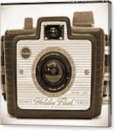 Kodak Brownie Holiday Flash Canvas Print