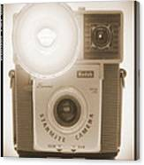 Kodak Brownie Starmite Camera Canvas Print
