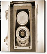 Kodak Duaflex Iv Camera Canvas Print