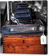 Kodak Folding Autographic Brownie 2-a Canvas Print