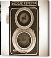 Kodak Reflex Camera Canvas Print