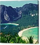 Koh Phi Phi ... Canvas Print