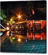 Koh Samui Beach Resort Canvas Print