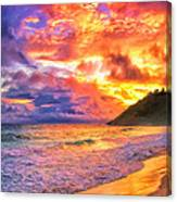 Kohala Sunset Canvas Print