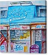 Kohrs Frozen Custard Canvas Print