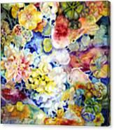 Koi Garden Canvas Print