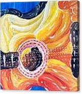 Koi Guitar Canvas Print