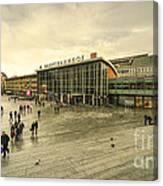 Koln Hauptbahnhof  Canvas Print