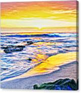 Kona Coast Sunset Canvas Print