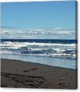 Kona Shoreline 1 Canvas Print
