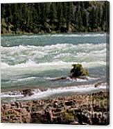 Kootenai Falls Montana Canvas Print