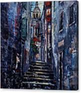 Korcula - Old Town - Croatia Canvas Print