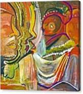 Koulikoro Woman Canvas Print