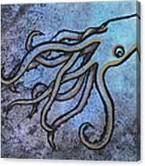 Kraken Canvas Print